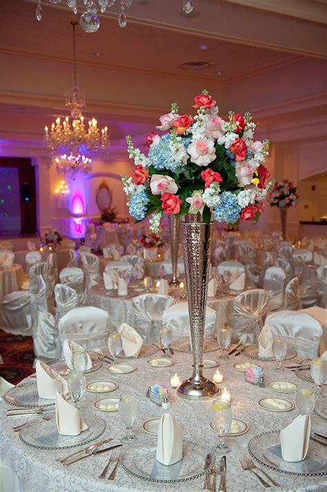 reception seating decoration dark pink light pink
