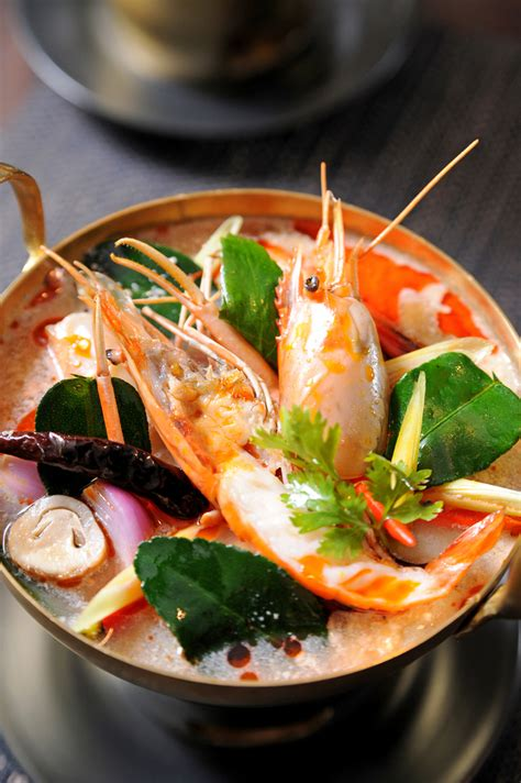 tom yum goong recipe temple  thai