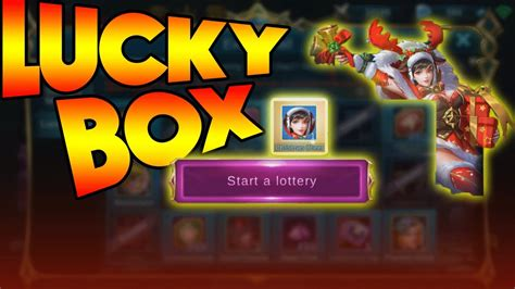Mobile Legends Lucky Box Event! (exclusive Christmas Skins