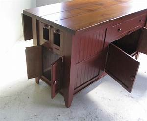 Reclaimed Wood Kitchen Island - Traditional - Kitchen
