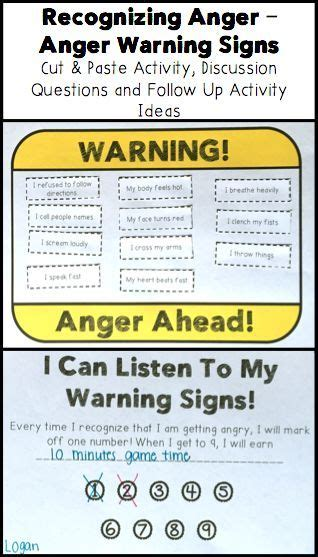 identifying anger anger management activity anger
