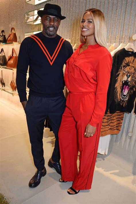 Idris Elba & Sabrina Dhowre Were Super Cute in this ...