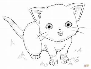 Cute Anime Animals Coloring Pages - AZ Coloring Pages