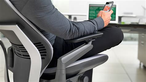 steelcase gesture a smartphone friendly office chair