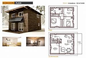constructeur maisons bioclimatiqueskokoon constructeurs With plan de maison 100m2 9 constructeur maisons bioclimatiqueskokoon constructeurs
