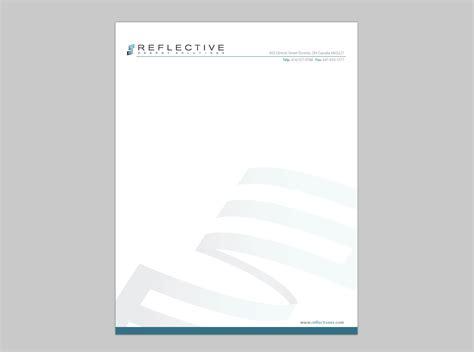 letterhead design formal letter template