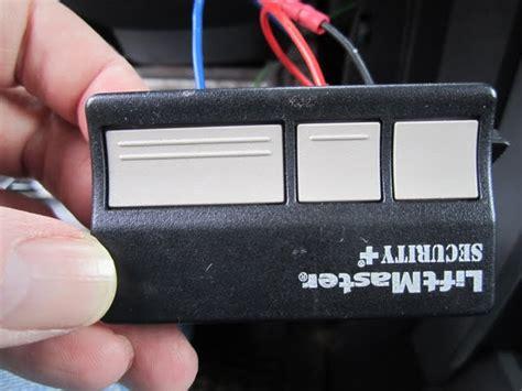 jeep wrangler garage door opener garage door remote wired switch with relay