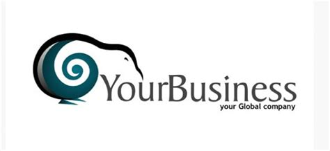 Free Business Logo Vector Design Template With Kiwi