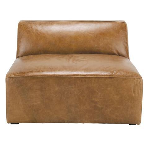 canapé vintage cuir marron chauffeuse de canapé cuir vintage marron jefferson