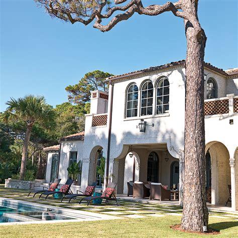 Rustic Spanishstyle Sea Island House Mediterranean