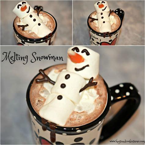 Melting Snowman Hot Chocolate   Hugs and Cookies XOXO
