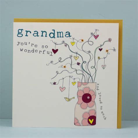 birthday card  grandmanannannananny  molly mae