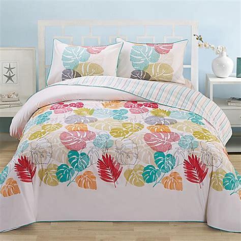 leaf organic cotton comforter set bed bath beyond