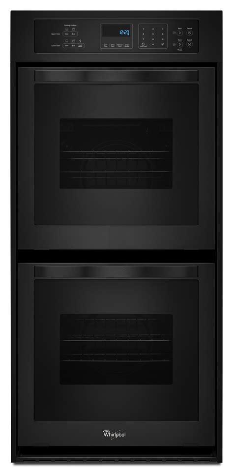whirlpool wodeseb  double wall oven black