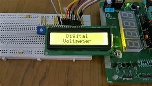 A Voltmeter Diagram