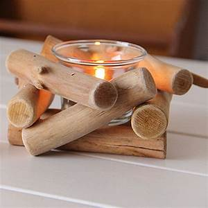 1pc, Natural, Wooden, Candle, Holder, Tealight, Candlestick, Festival, Supply, Christmas, Wedding
