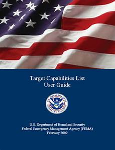 Target Capabilities List User Guide