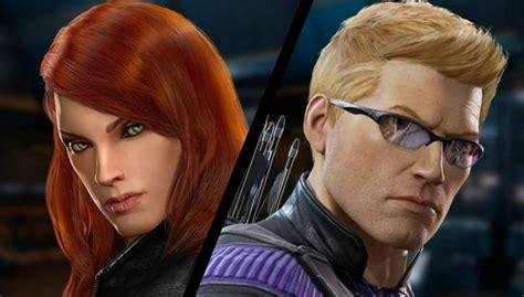 The Avengers Black Widow Hawkeye Coming Marvel
