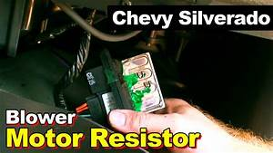 Chevrolet Silverado Blower Motor Speed Control Resistor