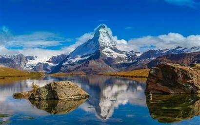 Mountain Lake Desktop Wallpapers Backgrounds Mobile