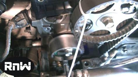 Hyundai Santa Fe Timing Belt Replacement by Hyundai Elantra Timing Belt Replacement Part 3