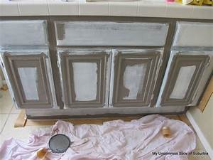 How to paint oak cabinets for Steps to painting a bathroom