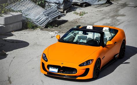 maserati orange orange maserati quattroporte wallpaper car wallpapers