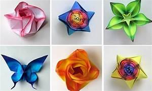 diy bricolage pliage papier fleurs papillon multicolores With faire une maison en 3d 6 origami facile 100 animaux fleurs en papier et deco maison
