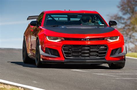 Camaro Chevrolet : 2018 Camaro Zl1 1le Is The Fastest Pony Car On The Nurburgring