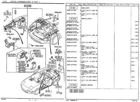 Mazda Miata Fuse Box Auto Wiring Diagram