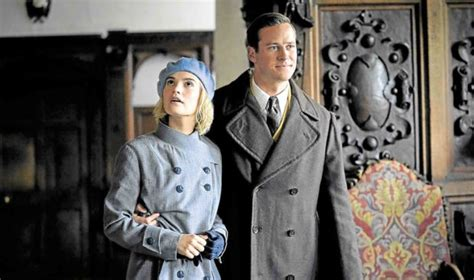 Playing characters in period flicks not Armie Hammer's ...