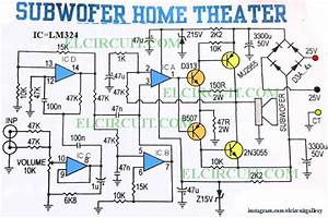 Subwoofer Home Theater Power Amplifier