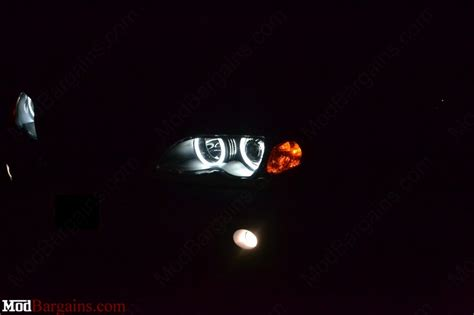 bmw headlights at night depo e46 coupe sedan xenon bmw headlights modbargains