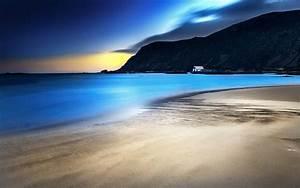 Beautiful Beach At Night Related Keywords - Beautiful ...