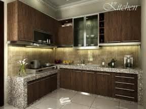 gambar desain interior dapur minimalis