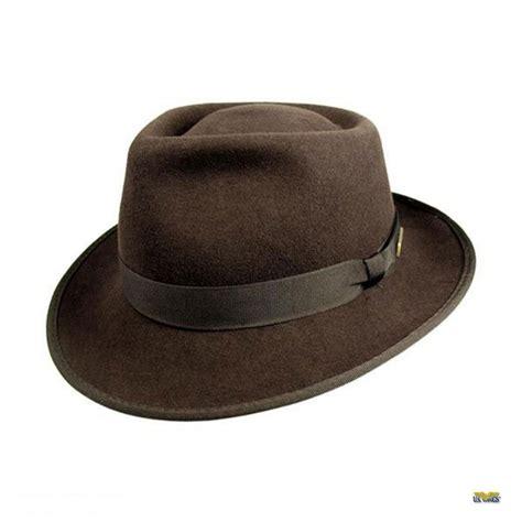 Indiana Jones Crushable Wool Felt Fedora   US Wings