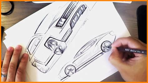 Industrial Design by Industrial Design Sketching Bic Pen Cars