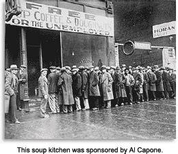 depression era soup kitchens