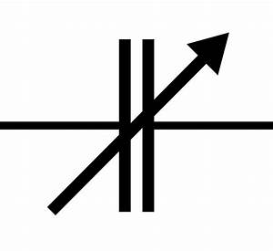 File Variable Capacitor Symbol Svg