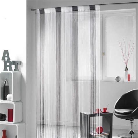 rideau de fil 90 x h200 cm circus orange rideau et