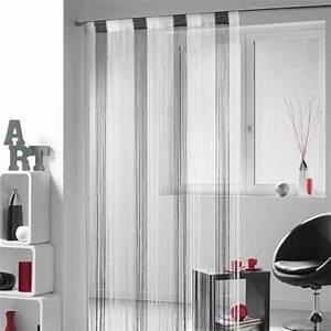 Fil Tringle Rideau : rideau de fil 90 x h200 cm circus orange rideau et ~ Premium-room.com Idées de Décoration