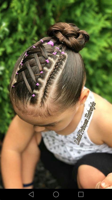 penteados  criancas girls hair style hair braided
