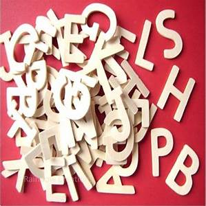 small plain wooden letters children39s craft supplies With mini wooden craft letters