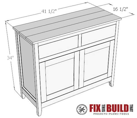 diy kitchen cabinet plans diy sideboard cabinet part 1 fixthisbuildthat 6828