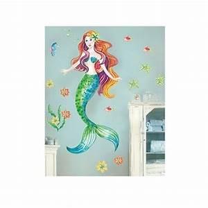 mermaid vinyl wall decal under the sea girl39s bedroom With mermaid wall decals
