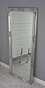 Wandspiegel Silber Antik : spiegel silber antik 150 x 60 cm holz wandspiegel barock badspiegel standspiegel ebay ~ Watch28wear.com Haus und Dekorationen