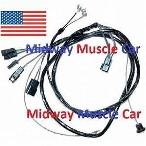 Manual Trans Console Wiring Harness 64 65 Chevy Chevelle