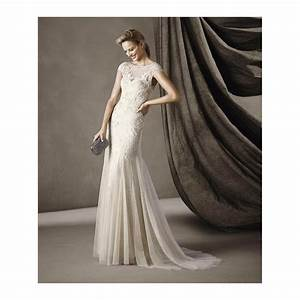 pronovias celine wedding dress sample sale gown uk 16 With sample sale wedding dresses