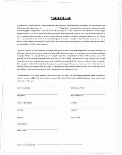 Form Release Template Pdf Templates Studiobinder Forms