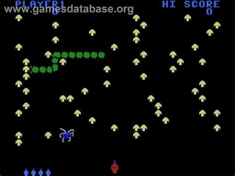 Centipede Coleco Vision Games Database